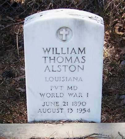 ALSTON, WILLIAM THOMAS  (VETERAN WWI) - Beauregard County, Louisiana | WILLIAM THOMAS  (VETERAN WWI) ALSTON - Louisiana Gravestone Photos