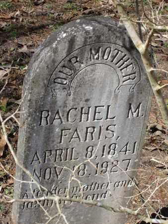 FARIS, RACHEL M - Beauregard County, Louisiana   RACHEL M FARIS - Louisiana Gravestone Photos