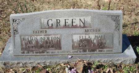 HALL GREEN, ELLA - Beauregard County, Louisiana | ELLA HALL GREEN - Louisiana Gravestone Photos