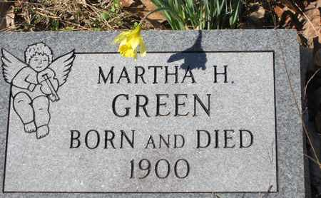 GREEN, MARTHA HENRIETTA - Beauregard County, Louisiana | MARTHA HENRIETTA GREEN - Louisiana Gravestone Photos