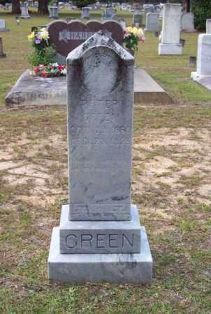 GREEN, PETER - Beauregard County, Louisiana | PETER GREEN - Louisiana Gravestone Photos