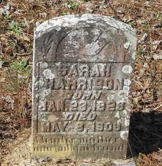 HARRISON, SARAH - Beauregard County, Louisiana | SARAH HARRISON - Louisiana Gravestone Photos