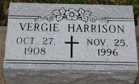 HARRISON, VERGIE - Beauregard County, Louisiana   VERGIE HARRISON - Louisiana Gravestone Photos