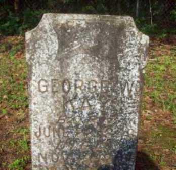 KAY, GEORGE W - Beauregard County, Louisiana | GEORGE W KAY - Louisiana Gravestone Photos