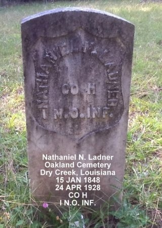 LADNER, NATHANIEL  N (VETERAN UNION) - Beauregard County, Louisiana | NATHANIEL  N (VETERAN UNION) LADNER - Louisiana Gravestone Photos