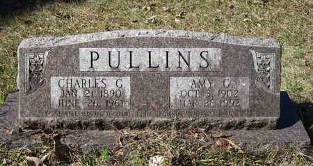 PULLINS, CHARLES G - Beauregard County, Louisiana | CHARLES G PULLINS - Louisiana Gravestone Photos
