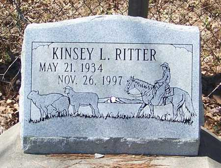 RITTER, KINSEY L - Beauregard County, Louisiana | KINSEY L RITTER - Louisiana Gravestone Photos