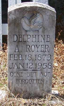 ROYER, DELPHINE A - Beauregard County, Louisiana   DELPHINE A ROYER - Louisiana Gravestone Photos