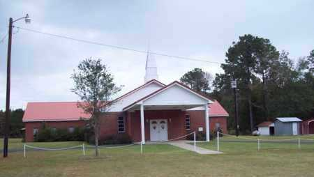 *  CHURCH,  - Beauregard County, Louisiana |  *  CHURCH - Louisiana Gravestone Photos