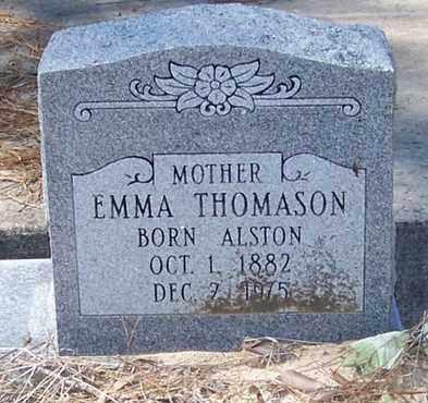 THOMASON, EMMA - Beauregard County, Louisiana | EMMA THOMASON - Louisiana Gravestone Photos