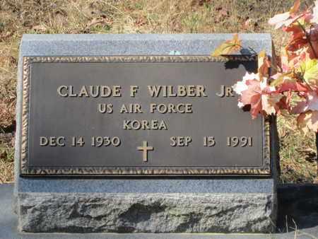 WILBER, CLAUDE F, JR  (VETERAN KOR) - Beauregard County, Louisiana | CLAUDE F, JR  (VETERAN KOR) WILBER - Louisiana Gravestone Photos