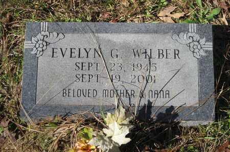 WILBER, EVELYN G - Beauregard County, Louisiana   EVELYN G WILBER - Louisiana Gravestone Photos