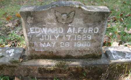 ALFORD, EDWARD - Bienville County, Louisiana | EDWARD ALFORD - Louisiana Gravestone Photos