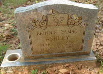 ASHLEY, BRINNIE - Bienville County, Louisiana | BRINNIE ASHLEY - Louisiana Gravestone Photos