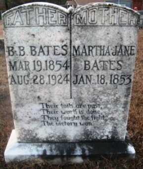 BATES, MARTHA JANE - Bienville County, Louisiana   MARTHA JANE BATES - Louisiana Gravestone Photos