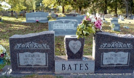BATES, ELIZABETH LABELL - Bienville County, Louisiana | ELIZABETH LABELL BATES - Louisiana Gravestone Photos