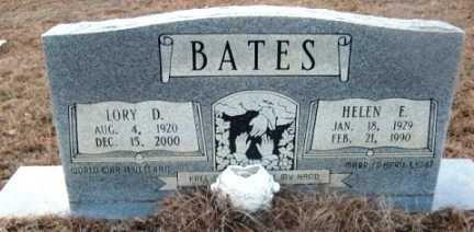 BATES, HELEN E - Bienville County, Louisiana | HELEN E BATES - Louisiana Gravestone Photos