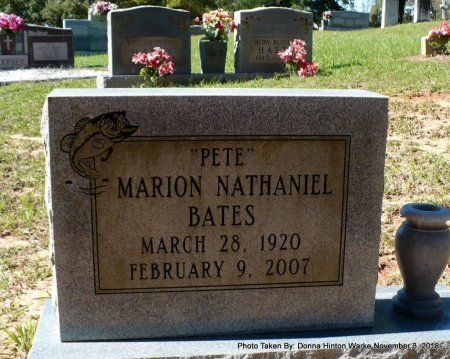 "BATES, MARION NATHANIEL ""PETE"" - Bienville County, Louisiana 