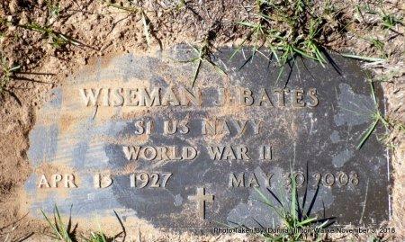 BATES  , WISEMAN JAMES (VETERAN WWII) - Bienville County, Louisiana | WISEMAN JAMES (VETERAN WWII) BATES   - Louisiana Gravestone Photos