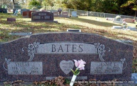 BATES, JENNIE E - Bienville County, Louisiana | JENNIE E BATES - Louisiana Gravestone Photos