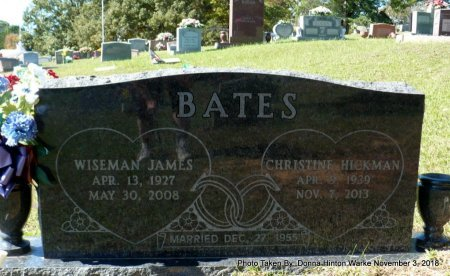 BATES, CHRISTINE - Bienville County, Louisiana | CHRISTINE BATES - Louisiana Gravestone Photos
