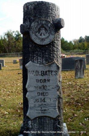 BATES, WISEMAN D - Bienville County, Louisiana | WISEMAN D BATES - Louisiana Gravestone Photos