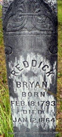 BRYAN, REDDICK - Bienville County, Louisiana | REDDICK BRYAN - Louisiana Gravestone Photos