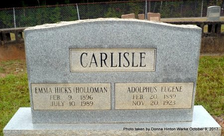 CARLISLE, EMMA - Bienville County, Louisiana | EMMA CARLISLE - Louisiana Gravestone Photos