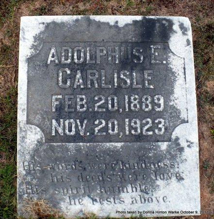 CARLISLE, ADOLPHUS EUGENE - Bienville County, Louisiana | ADOLPHUS EUGENE CARLISLE - Louisiana Gravestone Photos