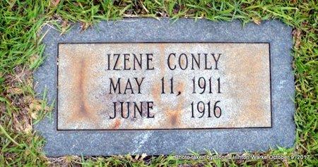 CONLY, IZENE - Bienville County, Louisiana | IZENE CONLY - Louisiana Gravestone Photos