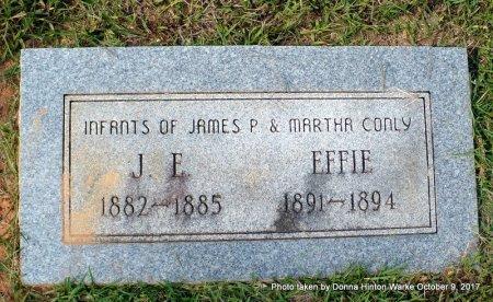 CONLY, EFFIE - Bienville County, Louisiana   EFFIE CONLY - Louisiana Gravestone Photos