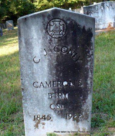 CONLY  , CULLEN JEFFERSON (VETERAN CSA) - Bienville County, Louisiana   CULLEN JEFFERSON (VETERAN CSA) CONLY   - Louisiana Gravestone Photos