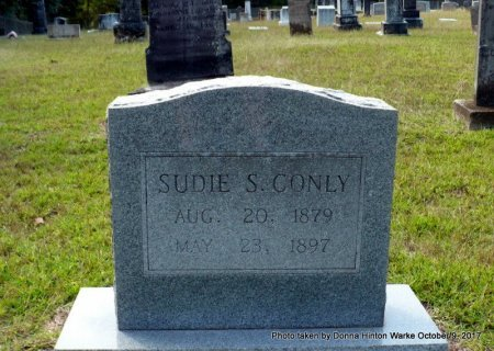 "CONLY, SUSAN V ""SUDIE"" - Bienville County, Louisiana 