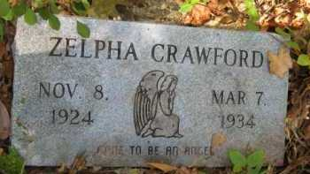 CRAWFORD (STONE 1), ZELPHA - Bienville County, Louisiana | ZELPHA CRAWFORD (STONE 1) - Louisiana Gravestone Photos