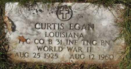 EGAN, CURTIS - Bienville County, Louisiana   CURTIS EGAN - Louisiana Gravestone Photos