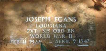 EGANS, JOSEPH - Bienville County, Louisiana | JOSEPH EGANS - Louisiana Gravestone Photos