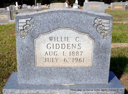 GIDDENS, WILLIE CLEETON - Bienville County, Louisiana | WILLIE CLEETON GIDDENS - Louisiana Gravestone Photos