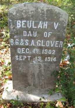 GLOVER, BEULAH V - Bienville County, Louisiana | BEULAH V GLOVER - Louisiana Gravestone Photos