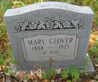 GLOVER (2ND STONE), MARY - Bienville County, Louisiana | MARY GLOVER (2ND STONE) - Louisiana Gravestone Photos