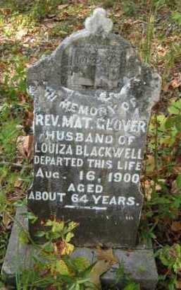 GLOVER, MAT., REV - Bienville County, Louisiana | MAT., REV GLOVER - Louisiana Gravestone Photos