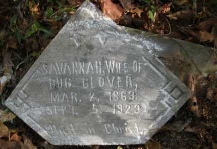 GLOVER, SAVANNAH - Bienville County, Louisiana | SAVANNAH GLOVER - Louisiana Gravestone Photos