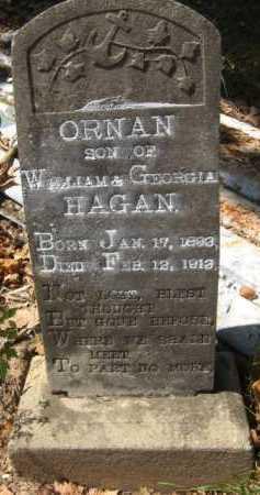 HAGAN, ORNAN - Bienville County, Louisiana | ORNAN HAGAN - Louisiana Gravestone Photos