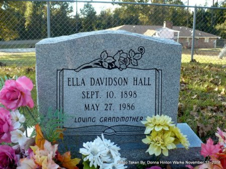 HALL, ELLA  - Bienville County, Louisiana | ELLA  HALL - Louisiana Gravestone Photos