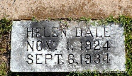 HALL, HELEN DALE - Bienville County, Louisiana | HELEN DALE HALL - Louisiana Gravestone Photos