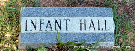 HALL, INFANT - Bienville County, Louisiana | INFANT HALL - Louisiana Gravestone Photos