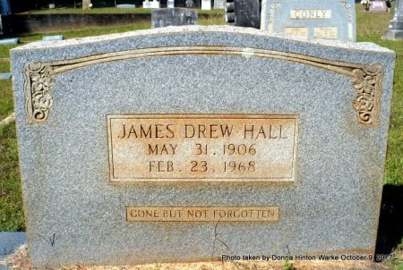 HALL, JAMES DREW - Bienville County, Louisiana | JAMES DREW HALL - Louisiana Gravestone Photos