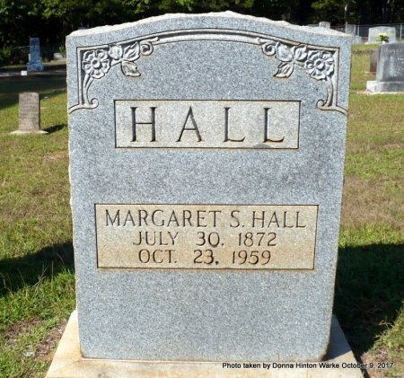 "HALL, MARGARET STYLENE ""MAGGIE"" - Bienville County, Louisiana 