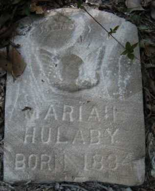 HULABY, MARIAH - Bienville County, Louisiana | MARIAH HULABY - Louisiana Gravestone Photos