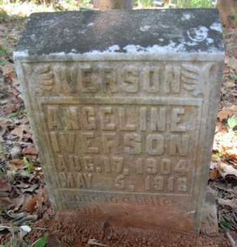 IVERSON, ANGELINE - Bienville County, Louisiana | ANGELINE IVERSON - Louisiana Gravestone Photos