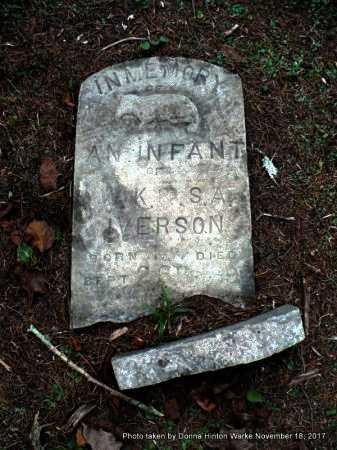 IVERSON, INFANT - Bienville County, Louisiana   INFANT IVERSON - Louisiana Gravestone Photos